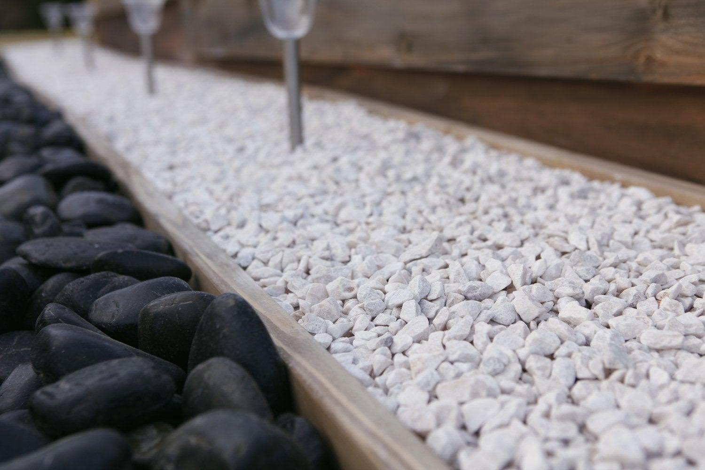 Graviers marbre rose 8 16 mm 25 kg leroy merlin - Gravillon leroy merlin ...
