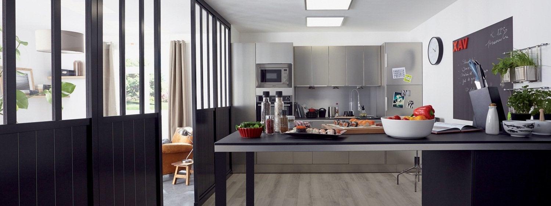 Donner un style atelier à la cuisine | Leroy Merlin