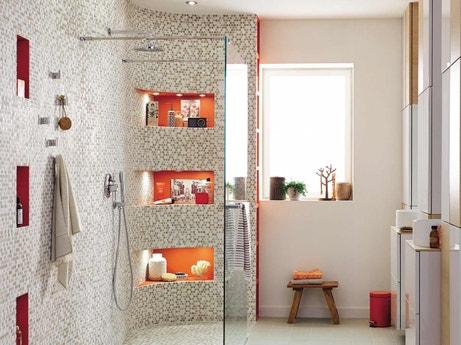 comment cr er une douche l italienne l tage leroy merlin. Black Bedroom Furniture Sets. Home Design Ideas