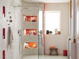 Bien penser sa salle de bains leroy merlin - Creer une douche italienne ...