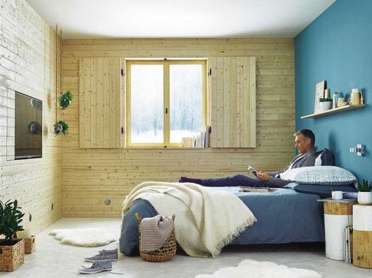 comment isoler les murs sous un bardage int rieur. Black Bedroom Furniture Sets. Home Design Ideas