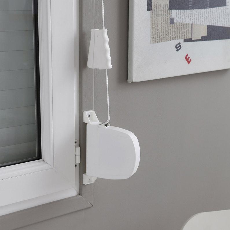 enrouleur pour volet roulant cordon pivotant long 5m leroy merlin. Black Bedroom Furniture Sets. Home Design Ideas