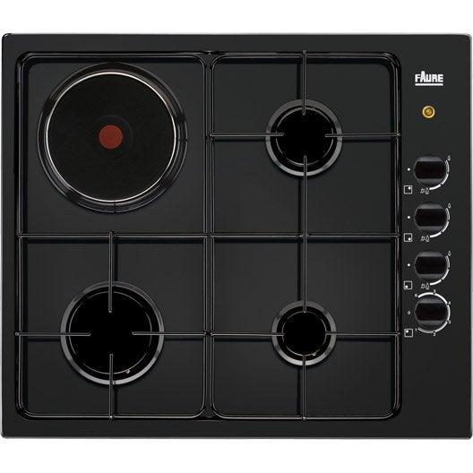 plaque de cuisson mixte au meilleur prix leroy merlin. Black Bedroom Furniture Sets. Home Design Ideas