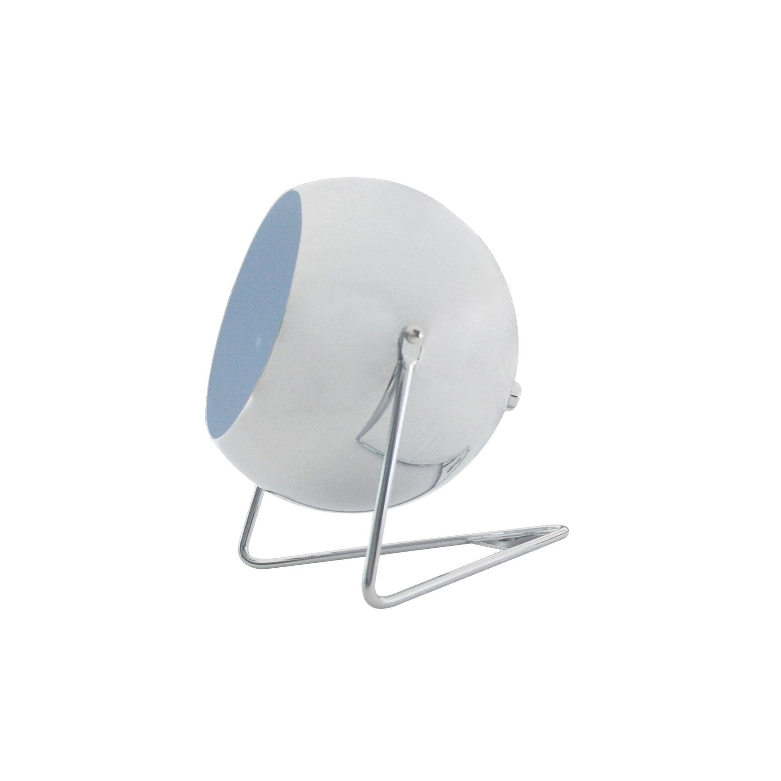 Lampe, essentiel, métal chromé mat, INSPIRE Bari