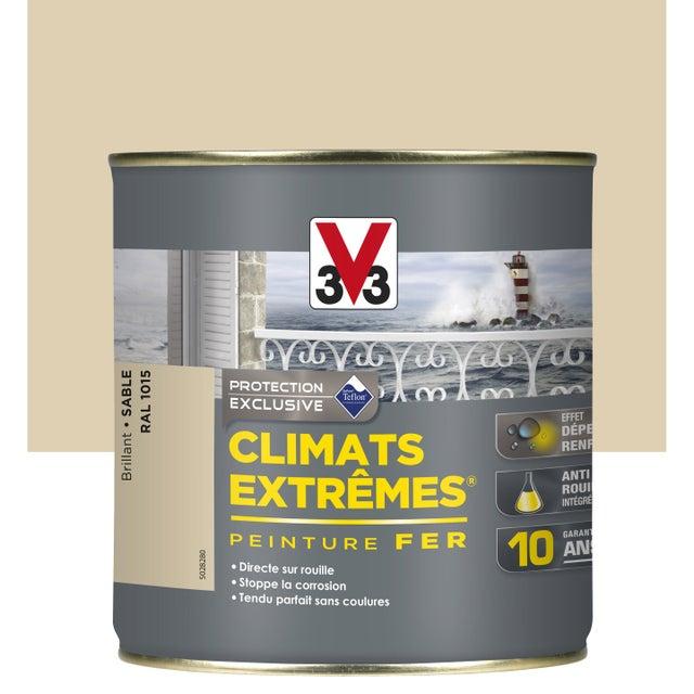 Peinture Fer Extérieur Climats Extrêmes V33 Sable 05 L
