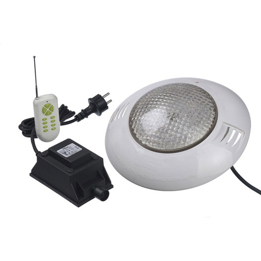spot led piscine leroy merlin