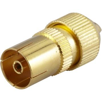 Connecteur Femelle Femelle Rj45 Au Meilleur Prix Leroy Merlin