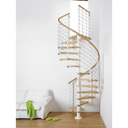 Escalier colima on rond ring structure m tal marche bois leroy merlin - Leroy merlin escalier escamotable ...