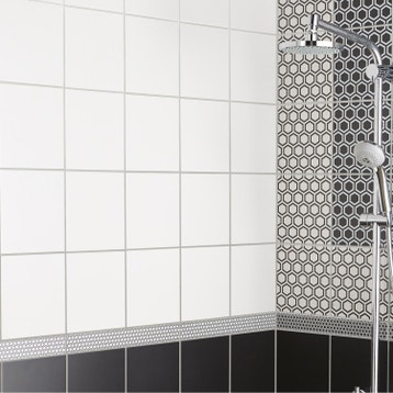 Carrelage mural et faïence pour salle de bains et crédence de ...