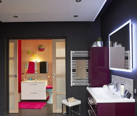 Tout savoir sur l 39 clairage dans la salle de bains leroy merlin - Lumiere douche italienne ...