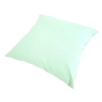 Coussin Sunny INSPIRE, vert sauge l.40 x H.40 cm