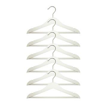 cintre bois m tal et plastique housse et tag re suspendre au meilleur prix leroy merlin. Black Bedroom Furniture Sets. Home Design Ideas