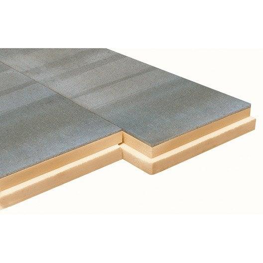 panneau de polystyrène extrudé+béton, soprema 1.20x0.59m, ep.120mm