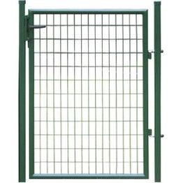 Portillon Soudé Eco vert H.1 x L.0.9m, maille 100x50mm
