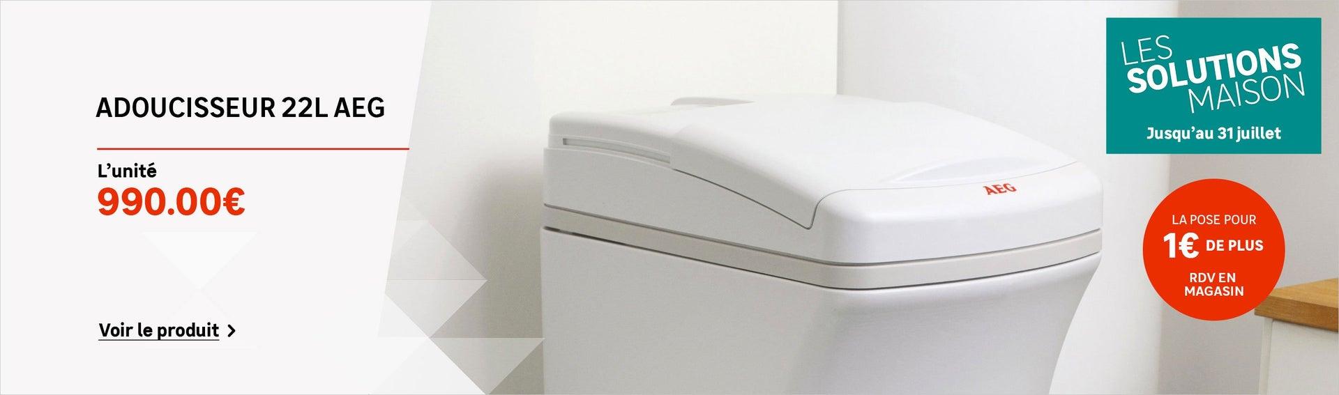 traitement de l 39 eau et adoucisseur chauffage plomberie leroy merlin. Black Bedroom Furniture Sets. Home Design Ideas