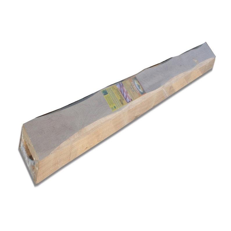 Poutre Chêne Creuse Rustique L6 X H12 Cm L2 M