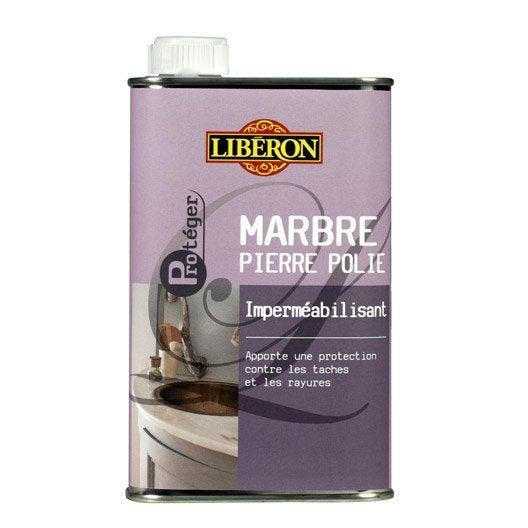 Imperm ablisant marbre liberon incolore 500 ml leroy merlin for Produits liberon