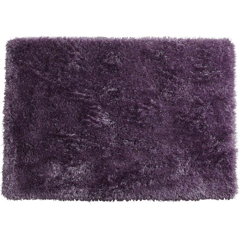 Tapis violet rectangulaire, l.120 x L.170 cm Love