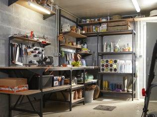 Des garages et ateliers multifonctions