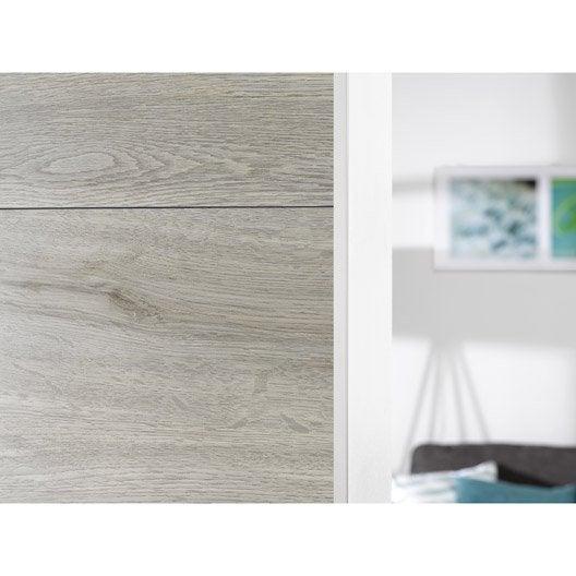 profil de d part et finition pour lambris pvc 2 2 x 1 cm l 2 6 m leroy merlin. Black Bedroom Furniture Sets. Home Design Ideas