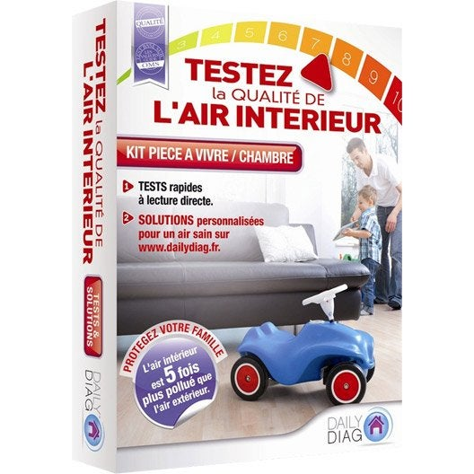 Diagnostic de qualit de l 39 air int rieur daily diag kit for Mesure qualite air interieur