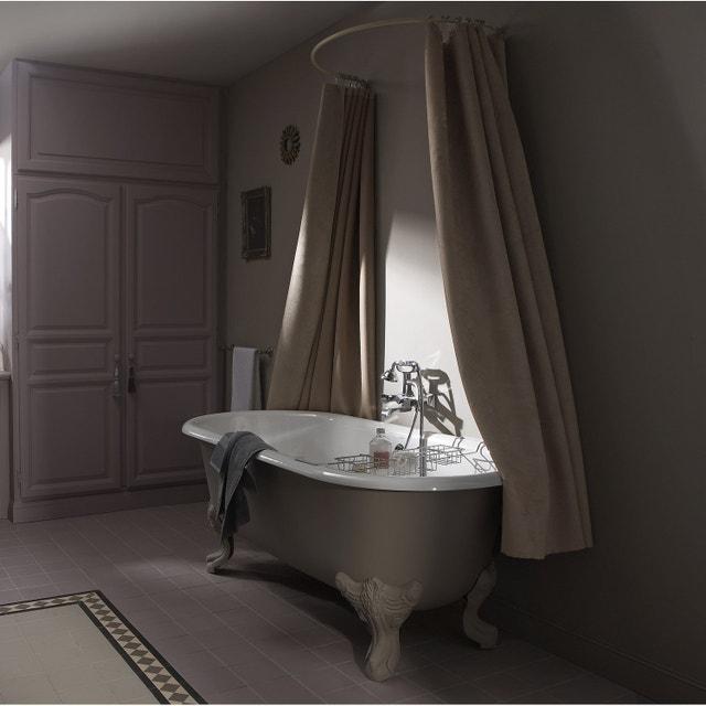 Salle de bains au charme rétro | Leroy Merlin