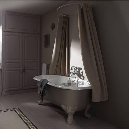 baignoire lot ovale cm peindre jacob delafon royale leroy merlin. Black Bedroom Furniture Sets. Home Design Ideas