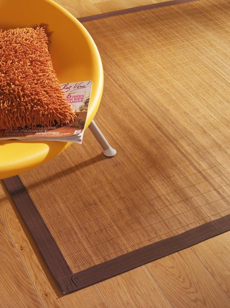Un tapis en bambou qui s 39 accorde avec le parquet leroy merlin - Couleur qui s accorde ...