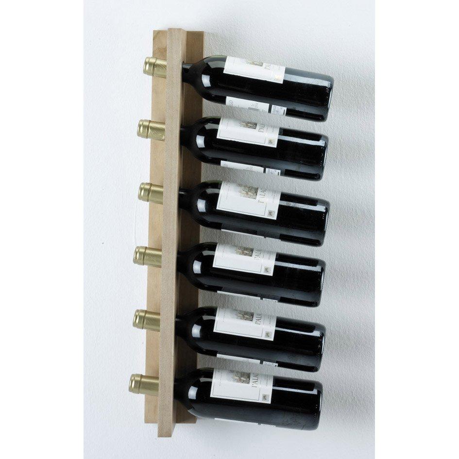 casier 6 emplacements bois brut leroy merlin. Black Bedroom Furniture Sets. Home Design Ideas