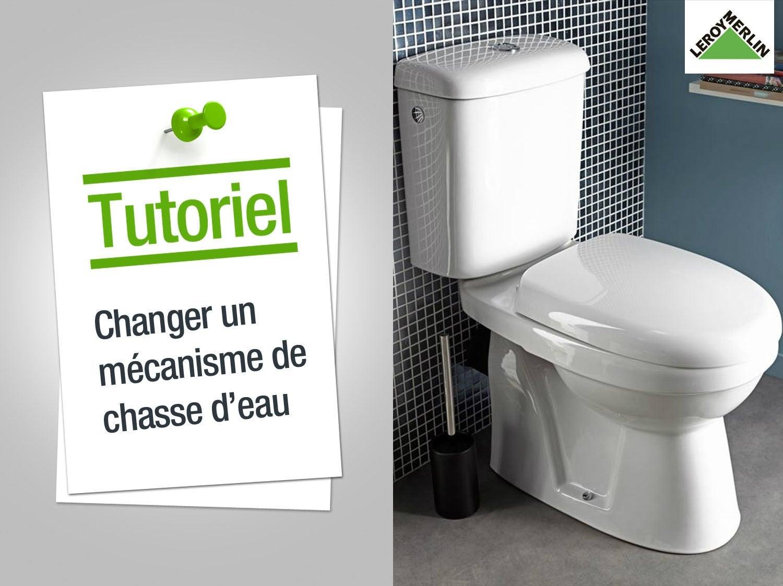 Joint wc pour cuvette et r servoir mpmp x h 1 5 x p 7 cm leroy merlin - Comment changer chasse d eau wc ...