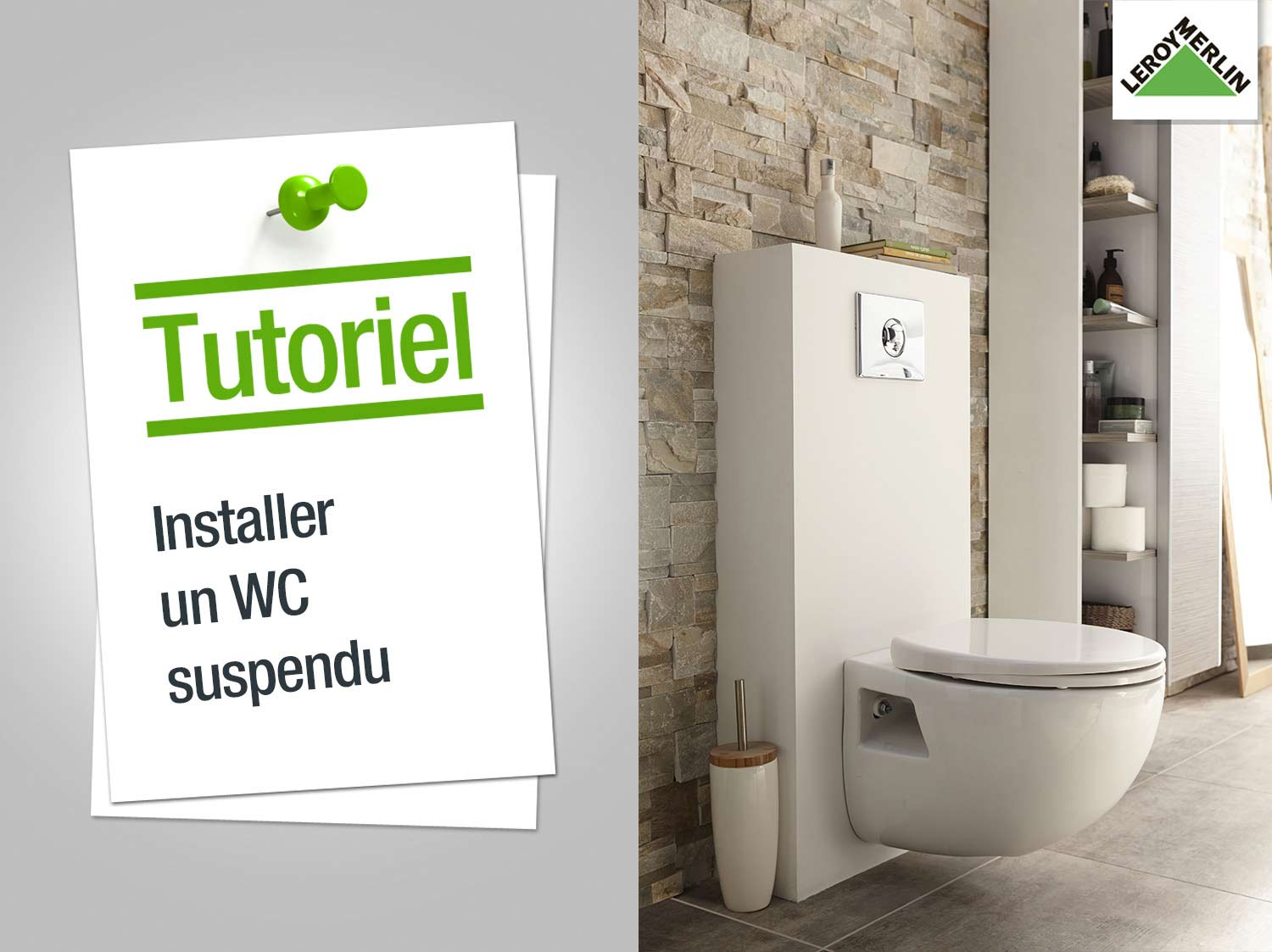 Comment installer un WC suspendu ?