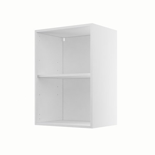 caisson de cuisine haut h delinia blanc l x h with meuble de cuisine profondeur 40 cm. Black Bedroom Furniture Sets. Home Design Ideas