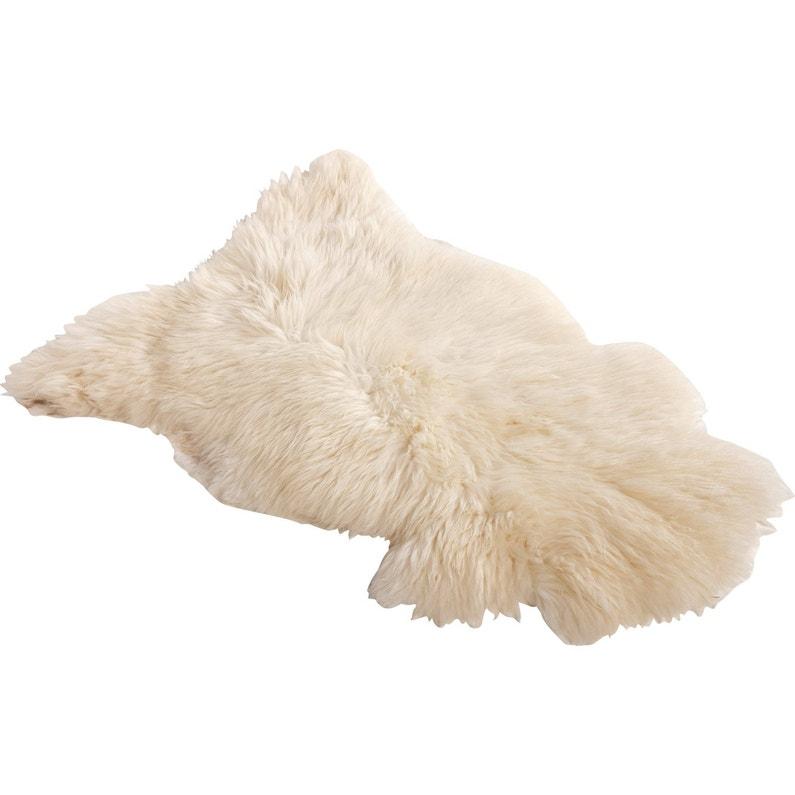 Tapis Peau De Mouton Blanc Leroy Merlin