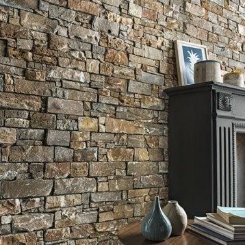 plaquette de parement pierre de parement et accessoires au meilleur prix leroy merlin. Black Bedroom Furniture Sets. Home Design Ideas