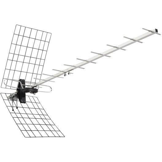 Antenne Intérieure Amplifiée 60 Db T 39 Nb Aninflat55
