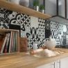 carreau de ciment belle poque d cor suzon gris noir et blanc x cm leroy merlin. Black Bedroom Furniture Sets. Home Design Ideas