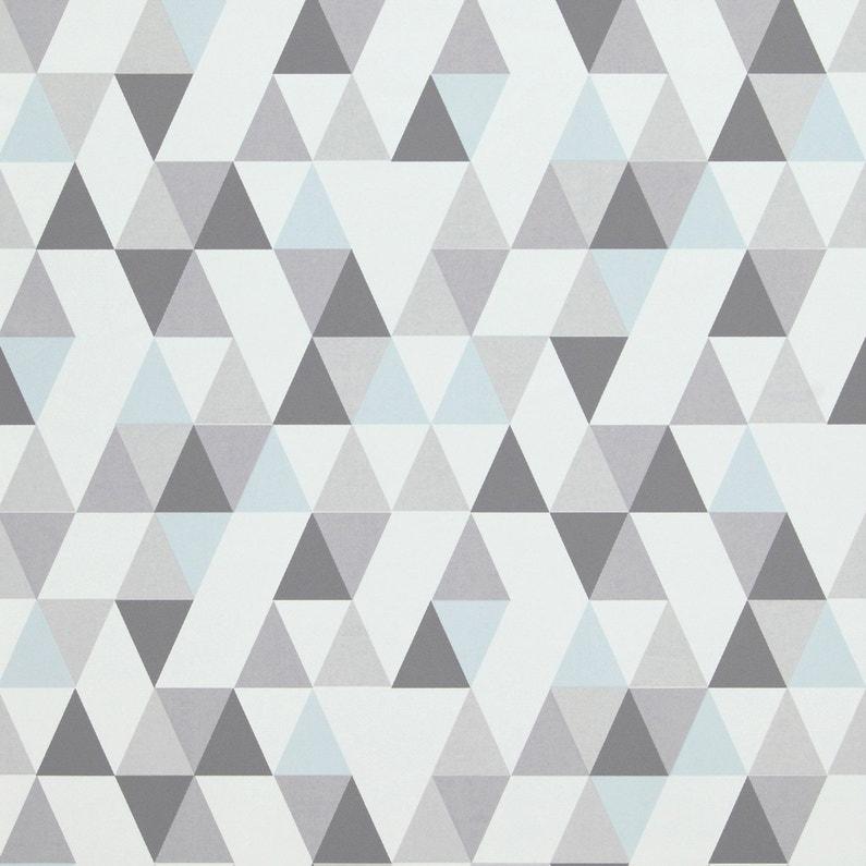 Papier peint intissé Hej gris | Leroy Merlin