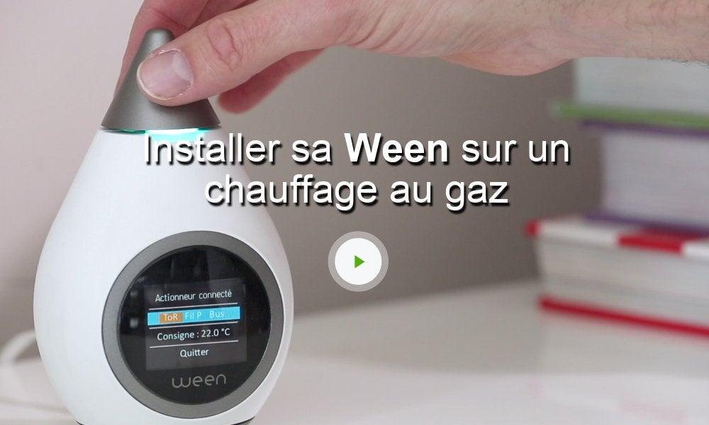 thermostat connect et intelligent sans fil ween leroy merlin. Black Bedroom Furniture Sets. Home Design Ideas