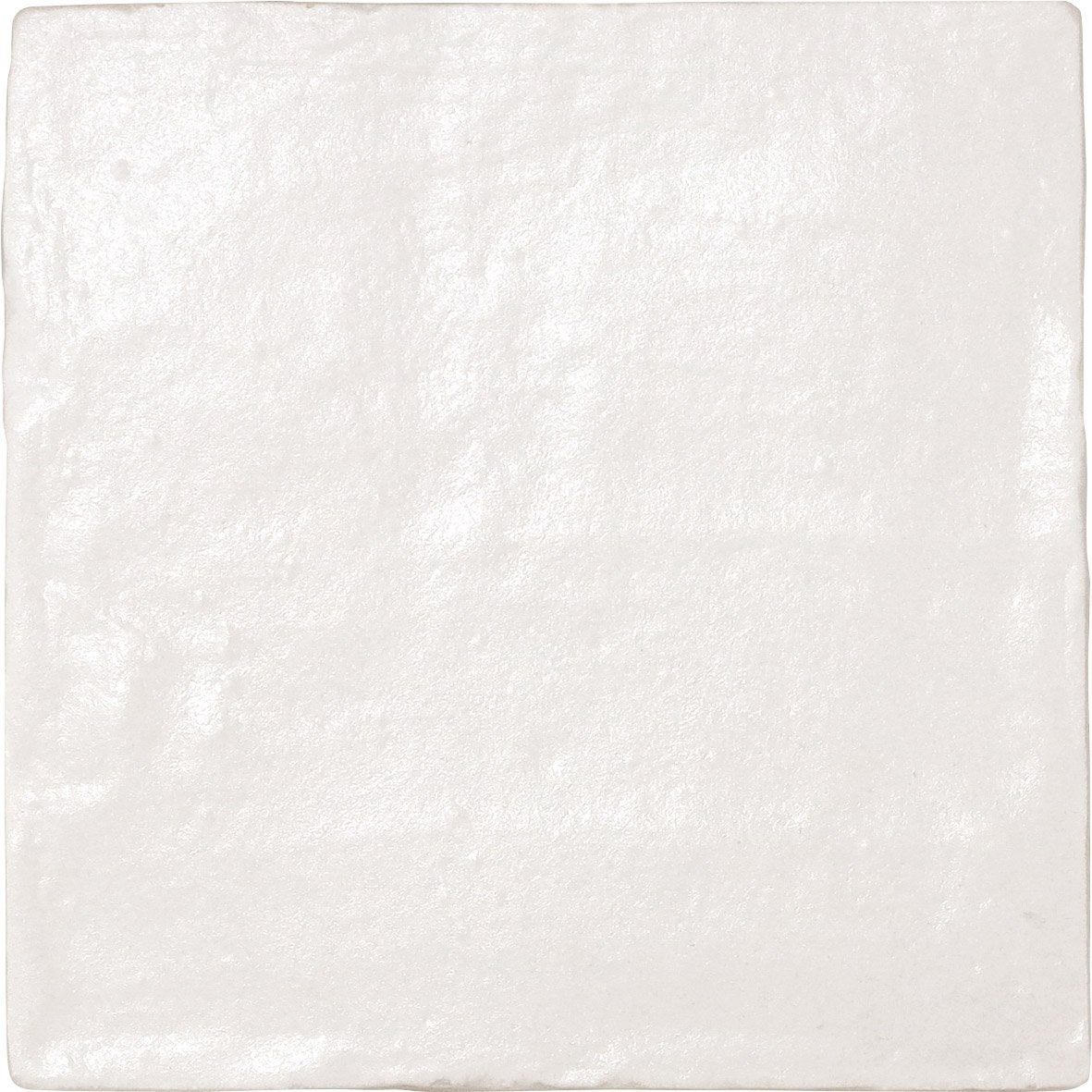 Carrelage mur pierre blanc nacrée l.10 x L.10 cm, Ibiza