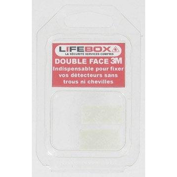 Kit de pose pour détecteur de fumée LIFEBOX