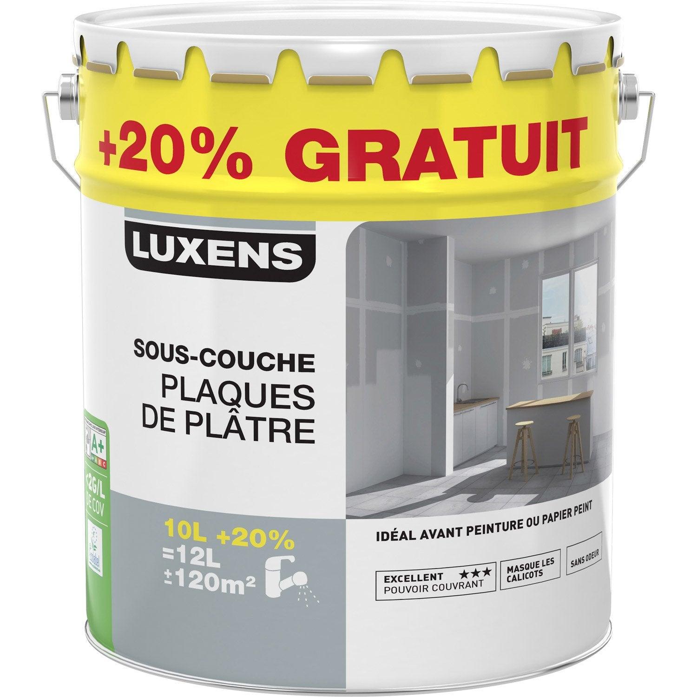 Sous Couche Plaque De Plâtre LUXENS 12 L