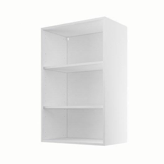caisson de cuisine haut h60 92 delinia blanc x x cm leroy merlin. Black Bedroom Furniture Sets. Home Design Ideas