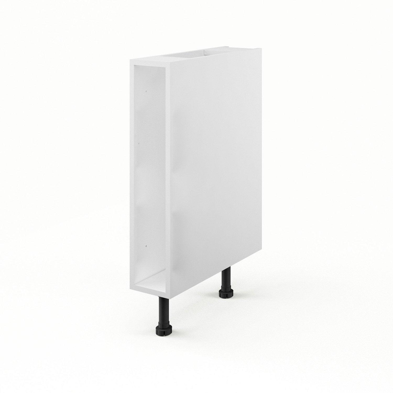 caisson de cuisine bas b15 delinia blanc x x cm leroy merlin. Black Bedroom Furniture Sets. Home Design Ideas