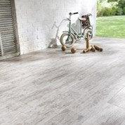 Carrelage sol capuccino effet bois River l.20 x L.60.4 cm