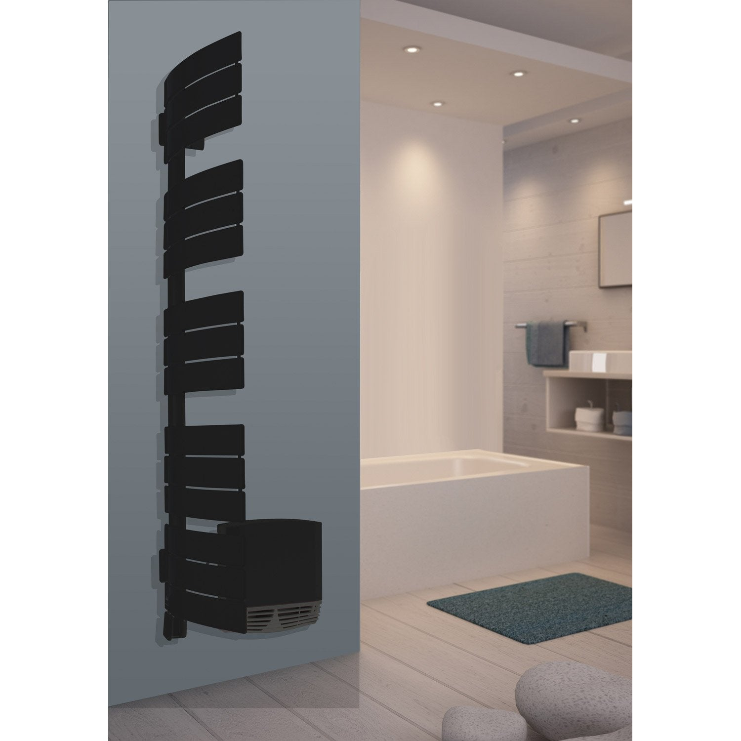 s che serviettes lectrique sauter venise 3cs pivotant gauche 500 1000 w leroy merlin. Black Bedroom Furniture Sets. Home Design Ideas