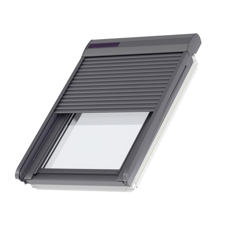 Volet Fenetre De Toit Roulant A Energie Solaire Velux Ssl Ck02
