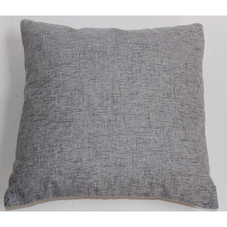 Coussin Tom, gris l.45 x H.45 cm