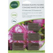 Engrais naturel plantes fleuries GEOLIA 25 unités 12.5 m²