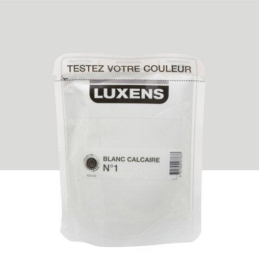 Testeur Peinture Blanc Calcaire 1 Luxens Couleurs