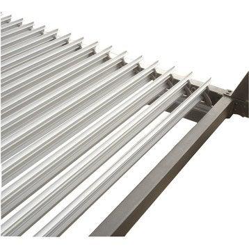 Lames aluminium Sydney gris l.350 x L.200 cm
